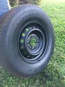 "16"" steel rims and tyres x4 Atherton Tablelands Preview"