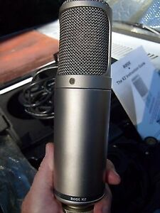 Mint condition Rode K2 studio mic