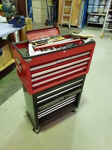 2 Stacked Tool Chests with various tools incl. Morley Bayswater Area Preview