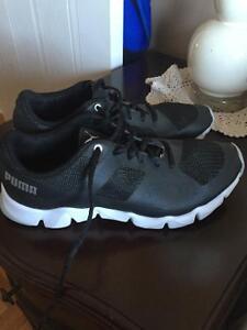 Puma gym shoes!