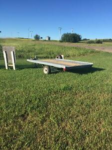Great deal 5x8 trailer with tilt