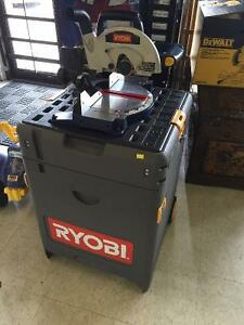 Ryobi SPC18 All-in-one Tool Chest mitre saw,sawzall,drill +more