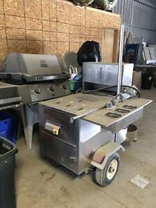 Original Willy Dog BBQ Cart For Sale