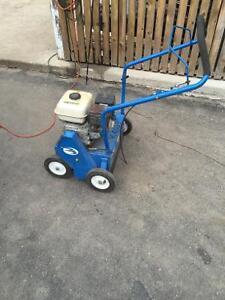Bluebird power rake