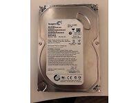 2X 500GB SEAGATE DESKTOP HDD's