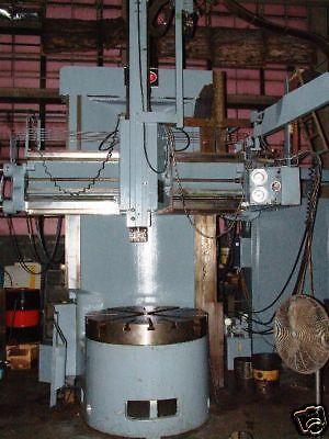 46 Bullard Dynatrol Hi-column Vertical Boring Mill 73