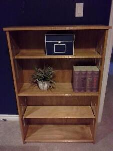 Revamped wooden bookcase