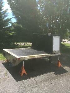 Flat Deck and Toolboxes for Welding or Mechanic Rig / Aluminum