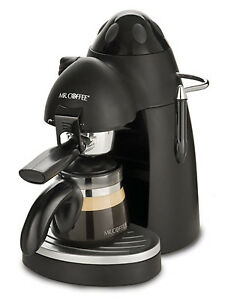 Mr. Coffee ECM 20 Steam Espressor Capuccino Maker