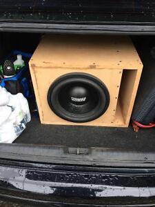 Sundown Audio SA12 + Precision Power P1000 Amp