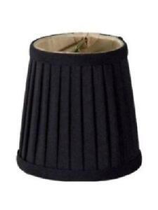 Mini lamp shades ebay black mini lamp shades aloadofball Gallery