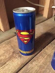 Superman energy drink can London Ontario image 1