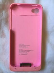 Rechargeable iPhone 4/4s case