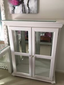 White glass cabinet Redland Bay Redland Area Preview