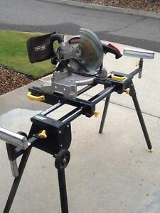 "10"" CRAFTSMAN chop/mitre saw with stand"
