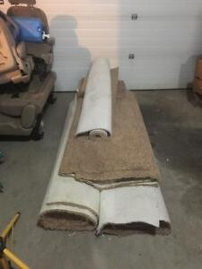 Approx 500 Sq (maybe more) feet of brand new roll-end carpet