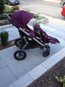 Baby Jogger City Select Stroller With 2nd Seat + Accessories
