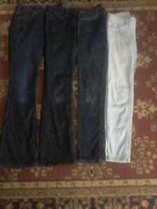4 pair's brand name girl's sz.14 or ladie's sz.small jean's $20