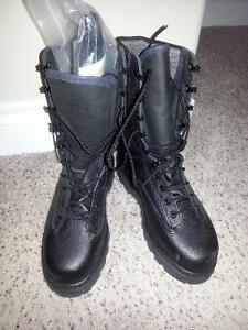 Black boots - military style