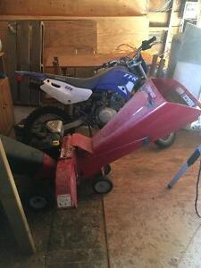 Excellent used condition Troy bilt wood chipper