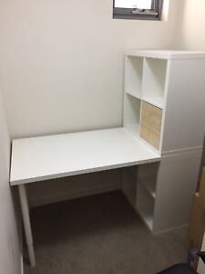 Ikea desk white + office chair Lane Cove North Lane Cove Area Preview