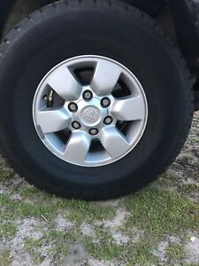 Toyota hilux sr5 rims Corlette Port Stephens Area Preview