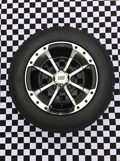 Golf Cart Alloy Wheels And Tyres