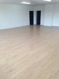 Dance school for rent 3000 square feet fully equipped