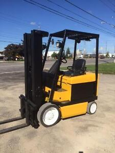 Yale ERC050 5000lb electric forklift.