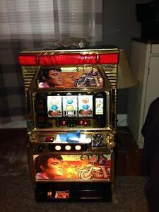 Vintage Elvis Motorcycle Slot Machine *high end