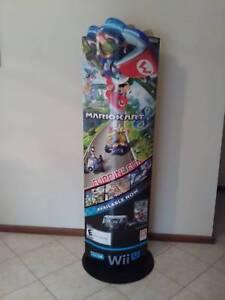MARIO KART 8 - 155cm STANDEE STORE DISPLAY nintendo Wii U Happy Valley Morphett Vale Area Preview