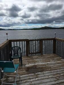 Camp Agnew lake your own bay by boat or quad  needs new family