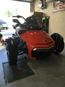 can am spyder f3s 1152 km neuf
