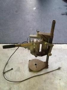 Vertical drill stand with drill