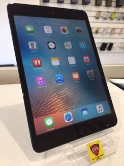 AS NEW CONDITION IPAD MINI 16GB BLACK WIFI ONLY WITH WARRANTY