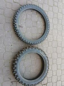 Studded Ice tires.