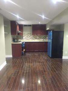 New 1 bedroom basement with Separate Entrance in Mississauga