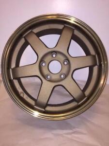 Bronze TE37 Style Reps w/ Polished Lip $$$550 NO TAX