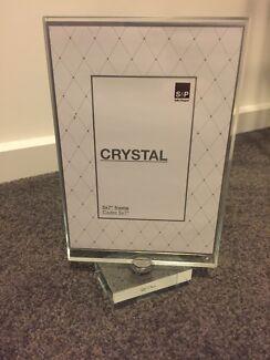 "Salt & Pepper Crystal 5x7"" Photo Frame"