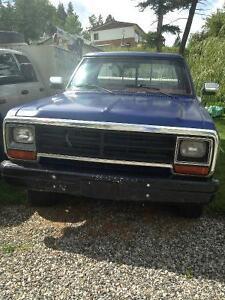1988 Dodge W250 Pickup Truck