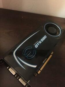 EVGA Gtx 580 graphics card