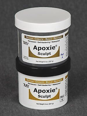 Aves - Apoxie Sculpt 1 Lb. (Blue) Self-hardening synthetic clay, 2 part product](Self Hardening Clay)