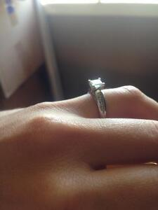 0.70 princess cut engagement ring Kingston Kingston Area image 3