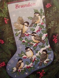needlepoint stocking kits - Cross Stitch Christmas Stocking Kits