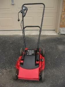 "Black and Decker 18"" corded electric mower, freshly sharpened"