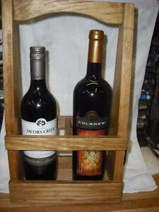 REDUCED!!Great Gift!! Wine Carrier/ display