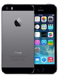 Mint Condition iPhone 5s (Space Gray)-(Fido)16GB=$230