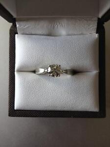 Diamond Engagement Ring Cambridge Kitchener Area image 2