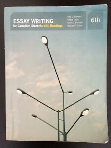 Essay Writing for Canadian Students with Readings (6th Edition) Peterborough Peterborough Area image 1