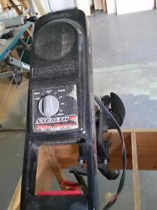 Boat motor battery powerd